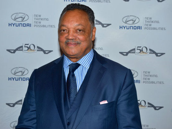 Rev. Jesse Jackson Praises Cameras — Not Press — for Attention on Police Killings of Black People