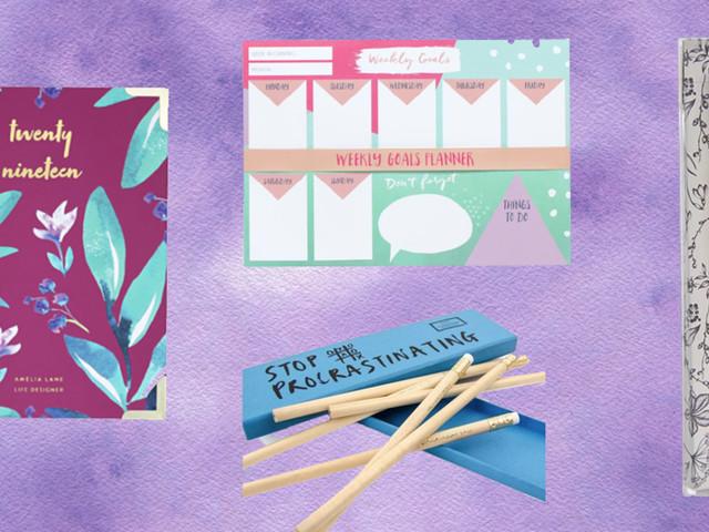 12 Stylish Pieces All Stationery Addicts Will Want To Kickstart 2019