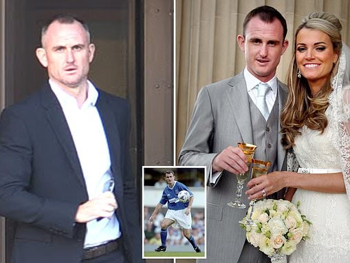 Ex-Arsenal footballer Francis Jeffers told estranged wife 'her life was over'