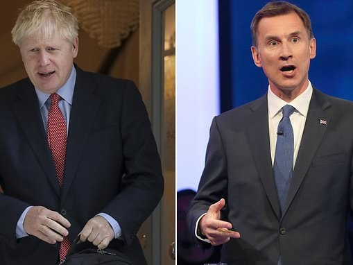 'What IS his Brexit policy?': Jeremy Hunt leads vicious attack on Boris Johnson