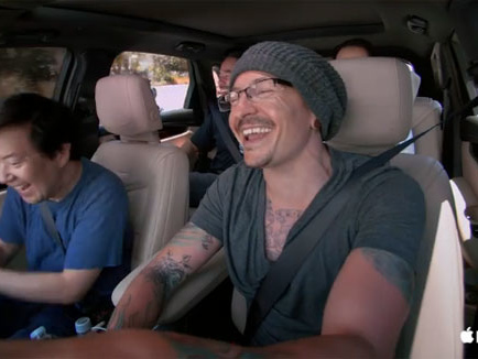 Watch Linkin Park's Carpool Karaoke, Filmed Just Days Before Chester Bennington's Death