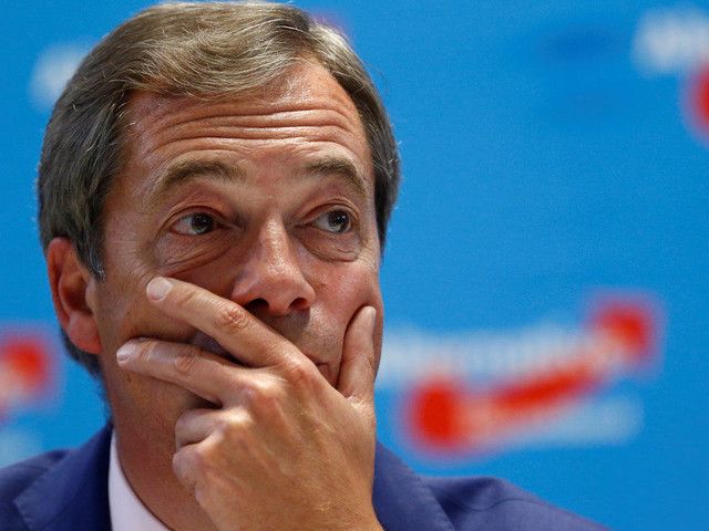 Nigel Farage Is Sad That Brexit Means We Can't Enter EU Capital Of Culture... After Brexit