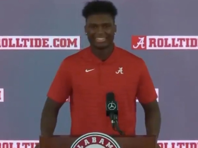 Nick Saban's favorite immature joke was exposed by an Alabama player