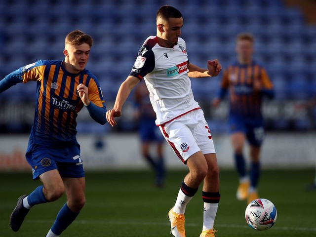 Bolton prospect has surgery on knee after picking up ACL injury