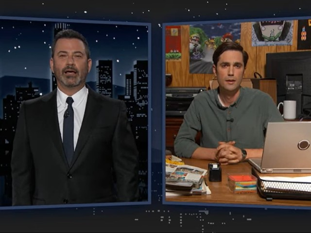 Jimmy Kimmel Thinks Critics of Chris Pratt as Super Mario Have Daddy Issues (Video)