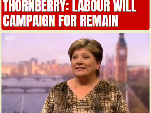 Thornberry: Labour Will Campaign for Remain