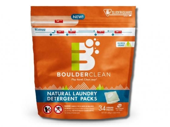 Child-Resistant Detergent Packaging - Boulder Clean's Flexible Packs Feature a Secure Zip Closure (TrendHunter.com)