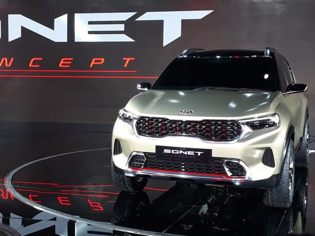 Kia Sonet compact SUV concept makes big impact at Auto Expo 2020