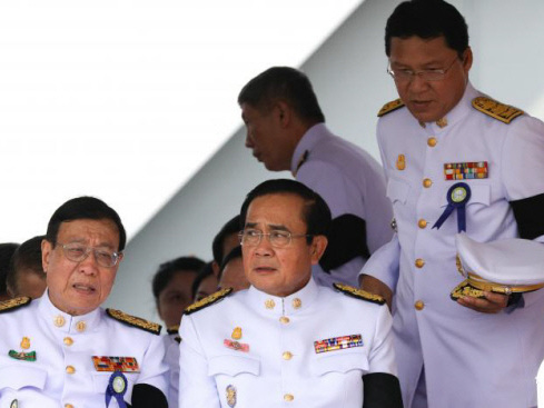 Three years after coup, junta is deeply embedded in Thai life