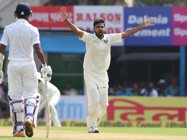 Bhuvneshwar, Dhawan released from India Test squad