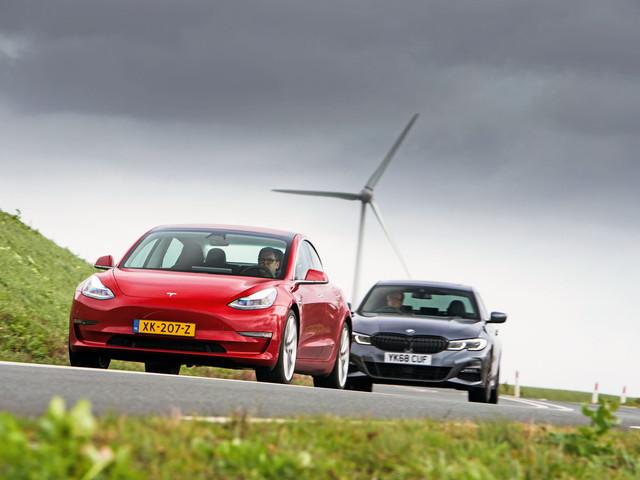 Saloon showdown: Tesla Model 3 vs BMW 3 Series
