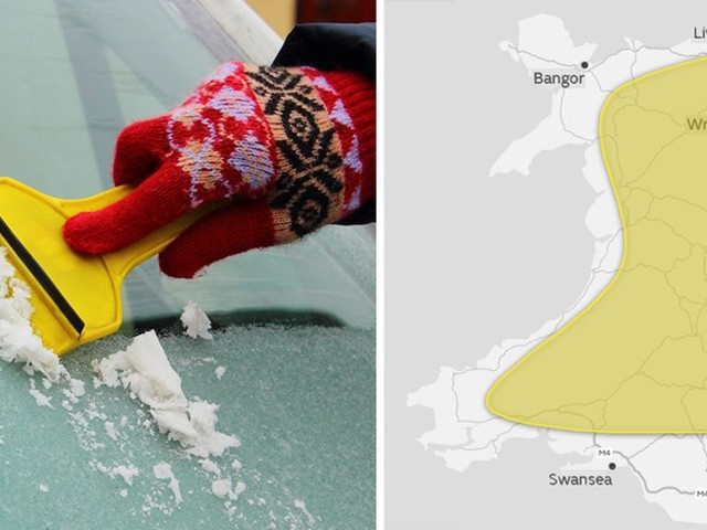 Met Office warns of icy roads for most parts of Wales