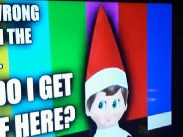 Parents are loving this simple stuck in the TV Elf on the Shelf idea - and it's all thanks to YouTube