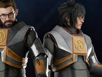 Final Fantasy XV getting demo next week, also adding Gordon Freeman cosplay