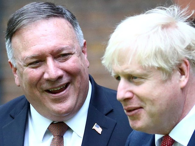 China warns the UK it will 'bear the consequences' of defying them on Hong Kong, as Mike Pompeo arrives in London