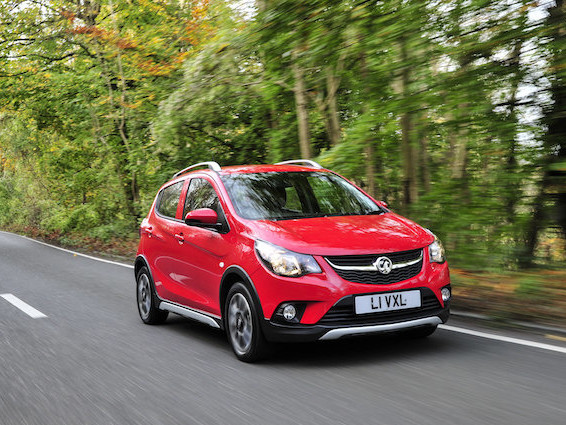 Vauxhall launches jacked-up Viva Rocks city car