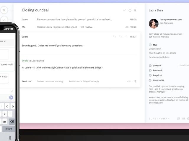 Superhuman, the $30/month email app that venture capitalists love, is being accused of enabling 'spying' on anyone who reads your messages