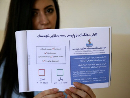 Iraq's Kurds set for contentious independence vote