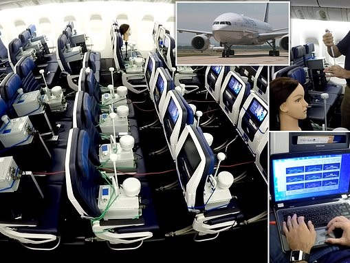 Covid study: Risk of coronavirus exposure on commercial United aircraft 'virtually non-existent'