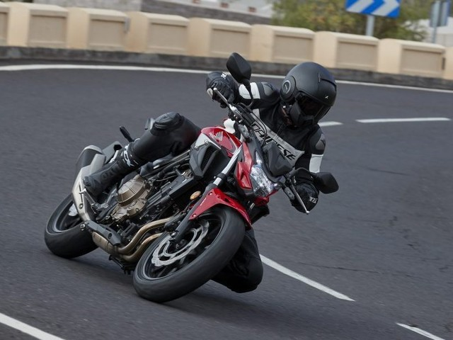 Honda's CB500F isn't just a favourite for learners — there's a playful side that's just as impressive