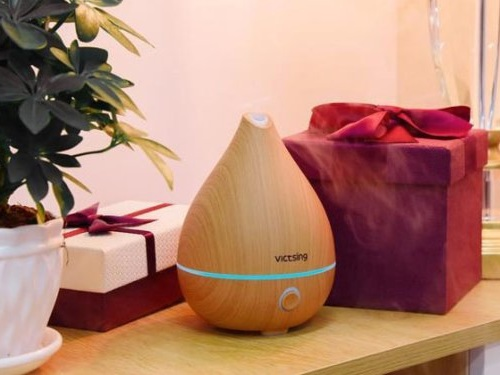 This is the perfect aroma diffuser for someone who's never used essential oils before — it's only $20
