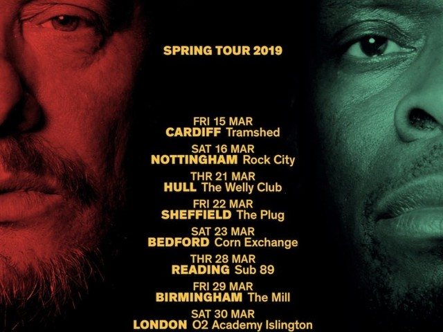 BLACK GRAPE ANNOUNCE UK SPRING TOUR 2019