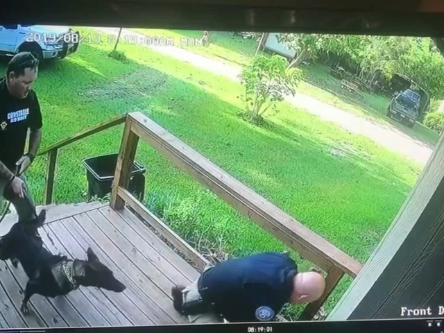 Armed woman stops burglary suspect long enough for deputies to catch up