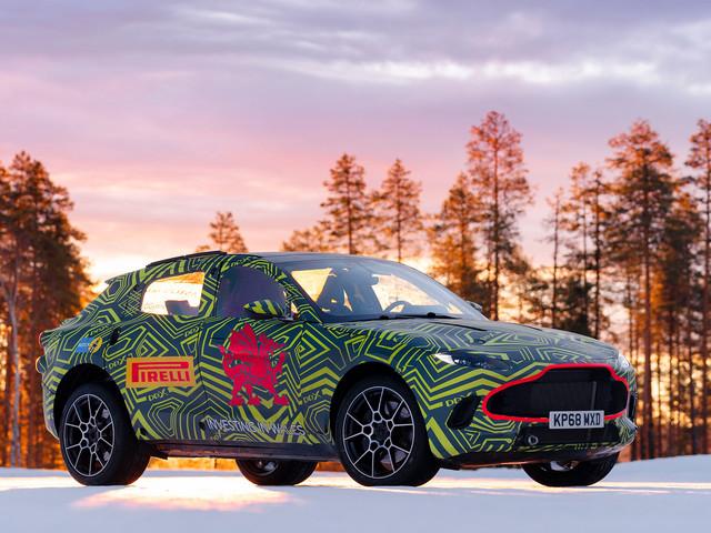 2019 Aston Martin DBX SUV edges closer to production