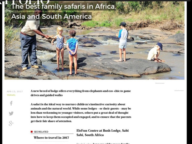 The best family safaris in Africa, Asia and South America