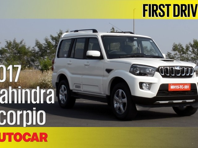 Review: 2017 Mahindra Scorpio facelift video review