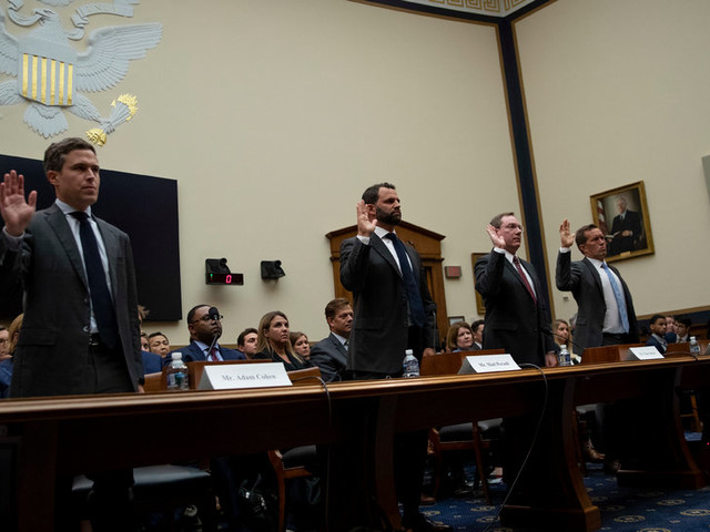 DealBook Briefing: Big Tech's Tough Day in D.C.