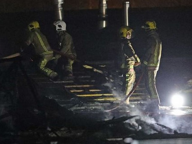 Tamworth hospital fire sees man detained on suspicion of arson after blaze at Sir Robert Peel