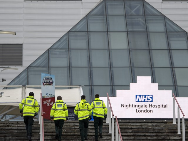 Inside NHS Nightingale: how ExCeL was transformed into emergency hospital