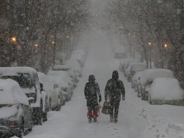 A 'cold-weather bomb' is bearing down on the East Coast — and it could deliver lots of snow and record-low temperatures