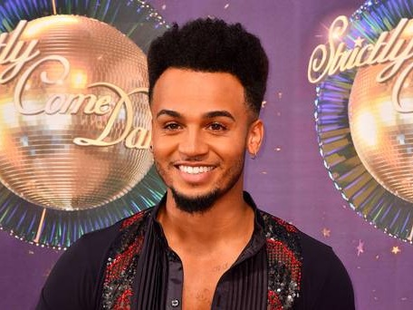 Strictly's Aston announces he's going to be a dad