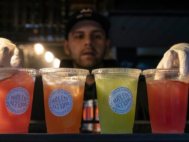 A battle is brewing over the industry push to make booze-to-go permanent in the US post-pandemic. Public health groups fear they're losing the fight.