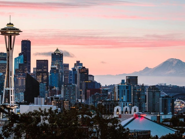Seattle has become the battleground for tech giants Google, Facebook, Amazon, and Microsoft. Here's how that's keeping real-estate deals going despite the pandemic. (FB, GOOG, AMZN, MSFT)