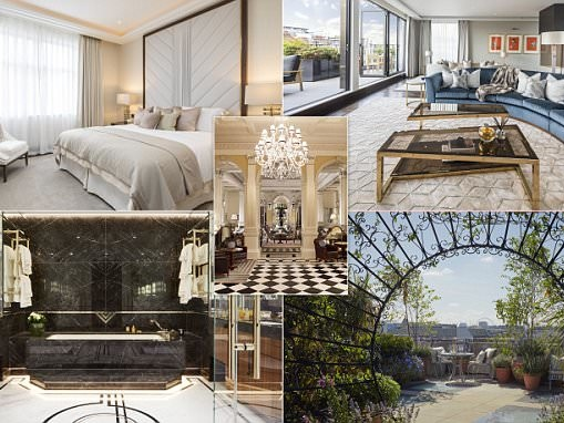 Luxury apartments unveiled next door to Claridge's
