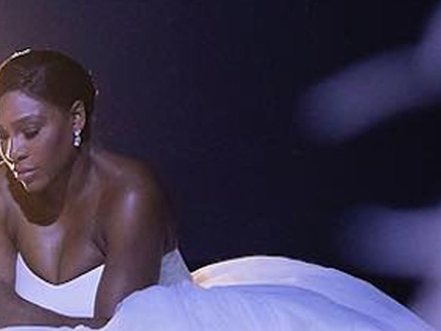 Serena Williams shares intimate moment from her wedding day