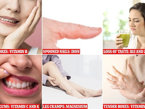 Expert reveals the warning signs that YOUR body is deficient in vitamins and minerals