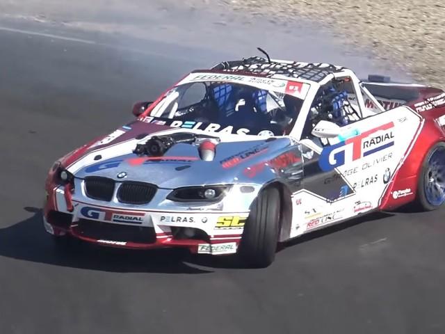 Video: BMW M3 Pickup Drift Car Has Supercharged LSX V8