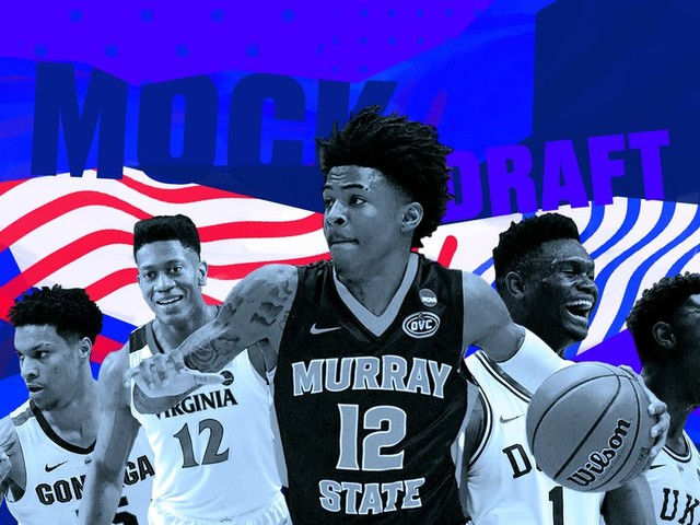NBA mock draft: Pelicans land No. 1 pick and Zion Williamson in most shocking lottery ever