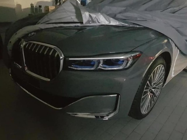 Potential leak of the 2019 BMW 7 Series Facelift