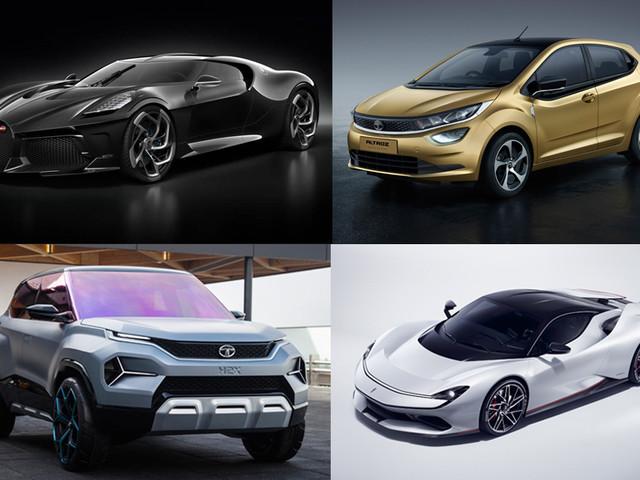 Star cars at the 2019 Geneva motor show