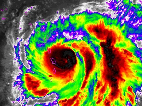Hurricane Maria is now a major Category 3 hurricane on track to slam the Irma-ravaged Caribbean