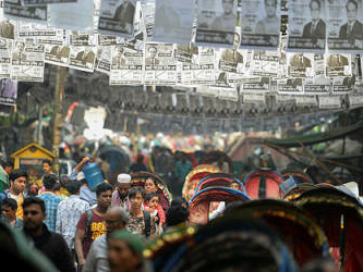Bangladesh election campaign ends in anger
