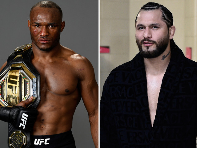 Kamaru Usman wants UFC clash with Jorge Masvidal behind closed doors so fans can 'hear him squeal like the pig he is'