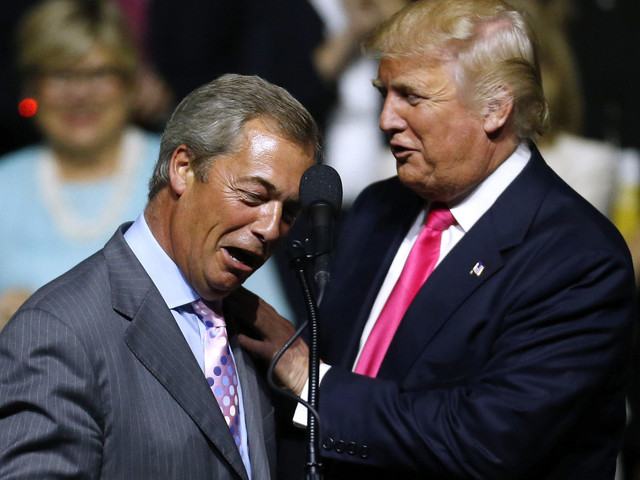 The Guardian: UK's Nigel Farage 'Person Of Interest' In FBI Russia Investigation