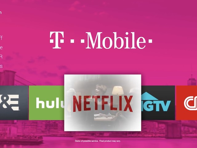 T-Mobile Announces Internet TV Service Coming in 2018