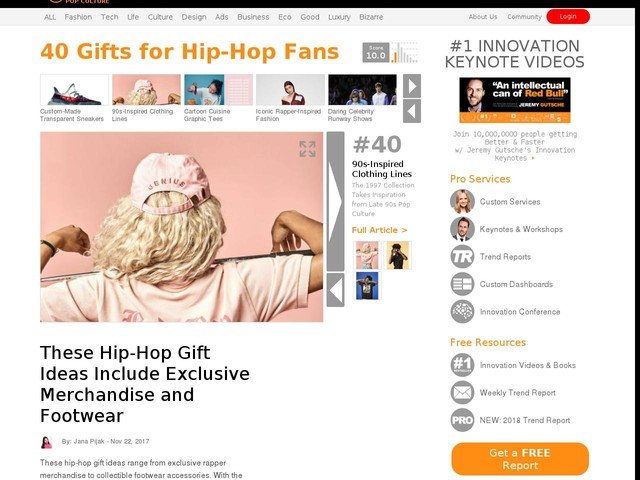 40 gifts for hip hop fans these hip hop gift ideas include 40 gifts for hip hop fans these hip hop gift ideas include exclusive merchandise and footwear trendhunter negle Images
